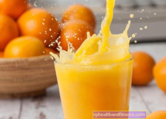 Портокалов сок - хранителни свойства. Здрав ли е?
