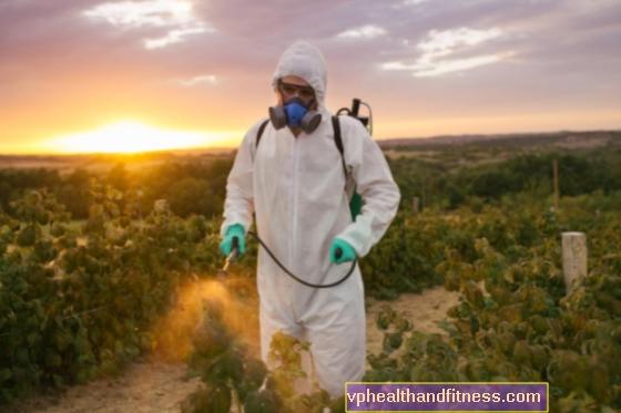 Förgiftning med herbicider - symtom, behandling